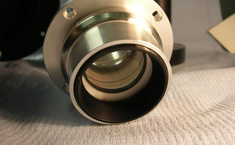 Mounted lens assembly